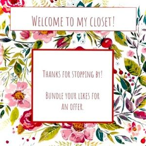 Welcome to my Closet!/Bundle & Save/Fast Shipping